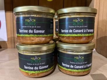 Terrine canard Maison Royer